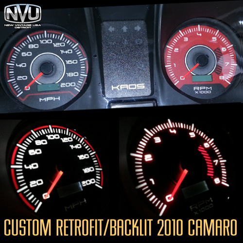 2010 camaro custom gauges