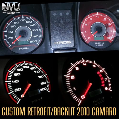 2010 camaro custom gauges