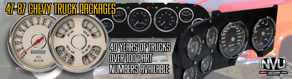chevy truck aftermarket gauge kits