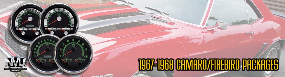 67 68 camaro gauges from nvu
