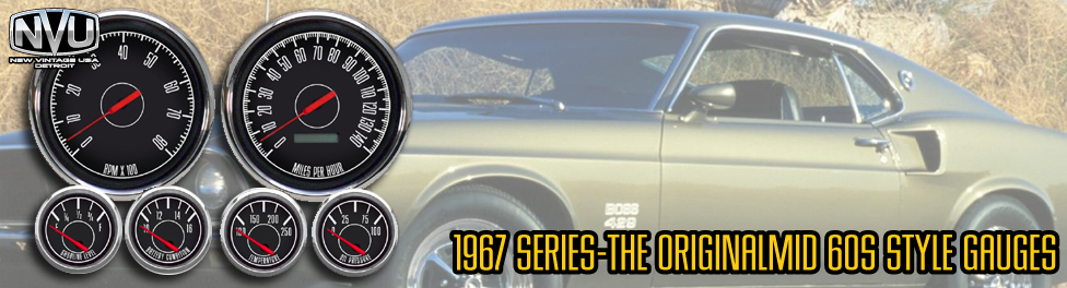 60s musclecar gauges mustang camaro chevelle nova studebaker