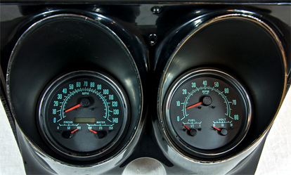 68 camaro aftermarket gauges