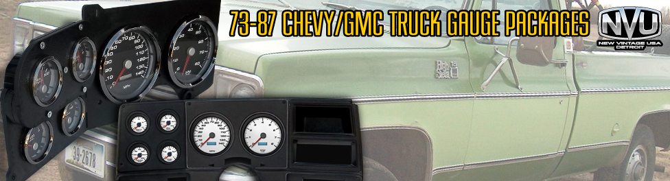 73-87 Chevy truck gauges from NVU