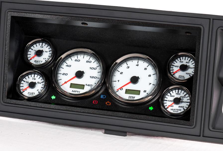73-79 f100 custom dash gauge kit