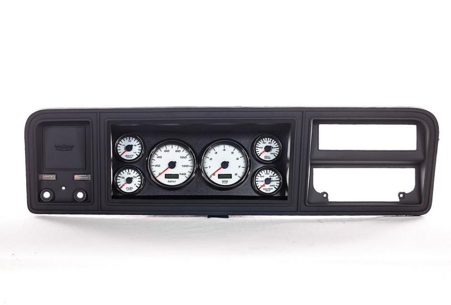 73 ford truck custom gauges