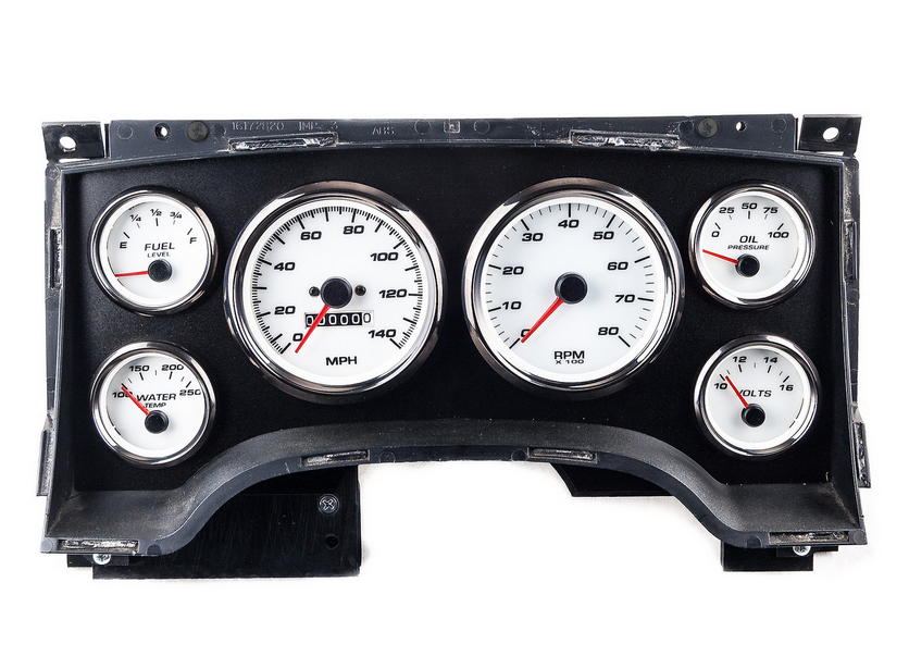aftermarket chevy s10 gauges custom cluster