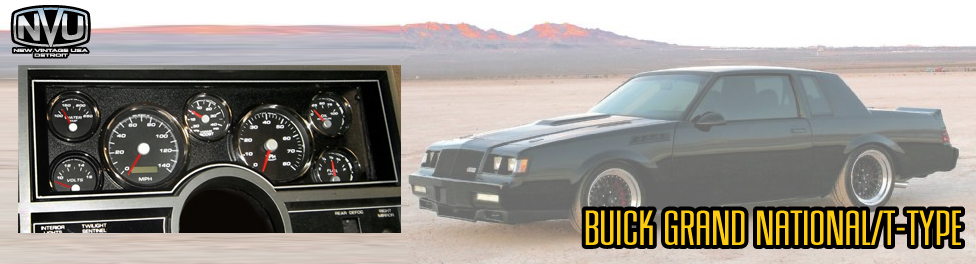 custom buick grand national gauges