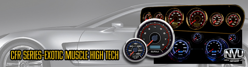 exotic car gauges muscle CFR