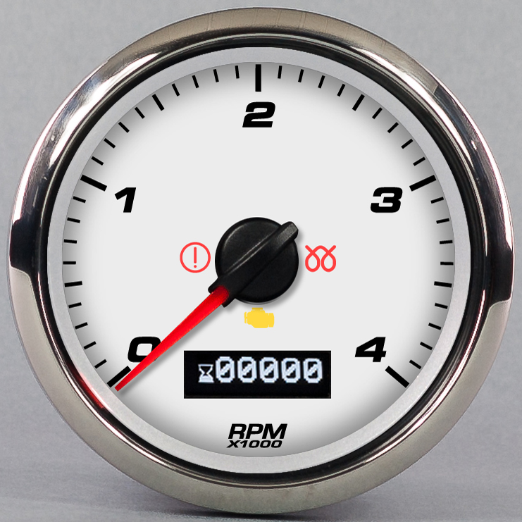 DIESLE TACHOMETER CUSTOM PROGRAMMABLE CUMMINGS DURAMAX