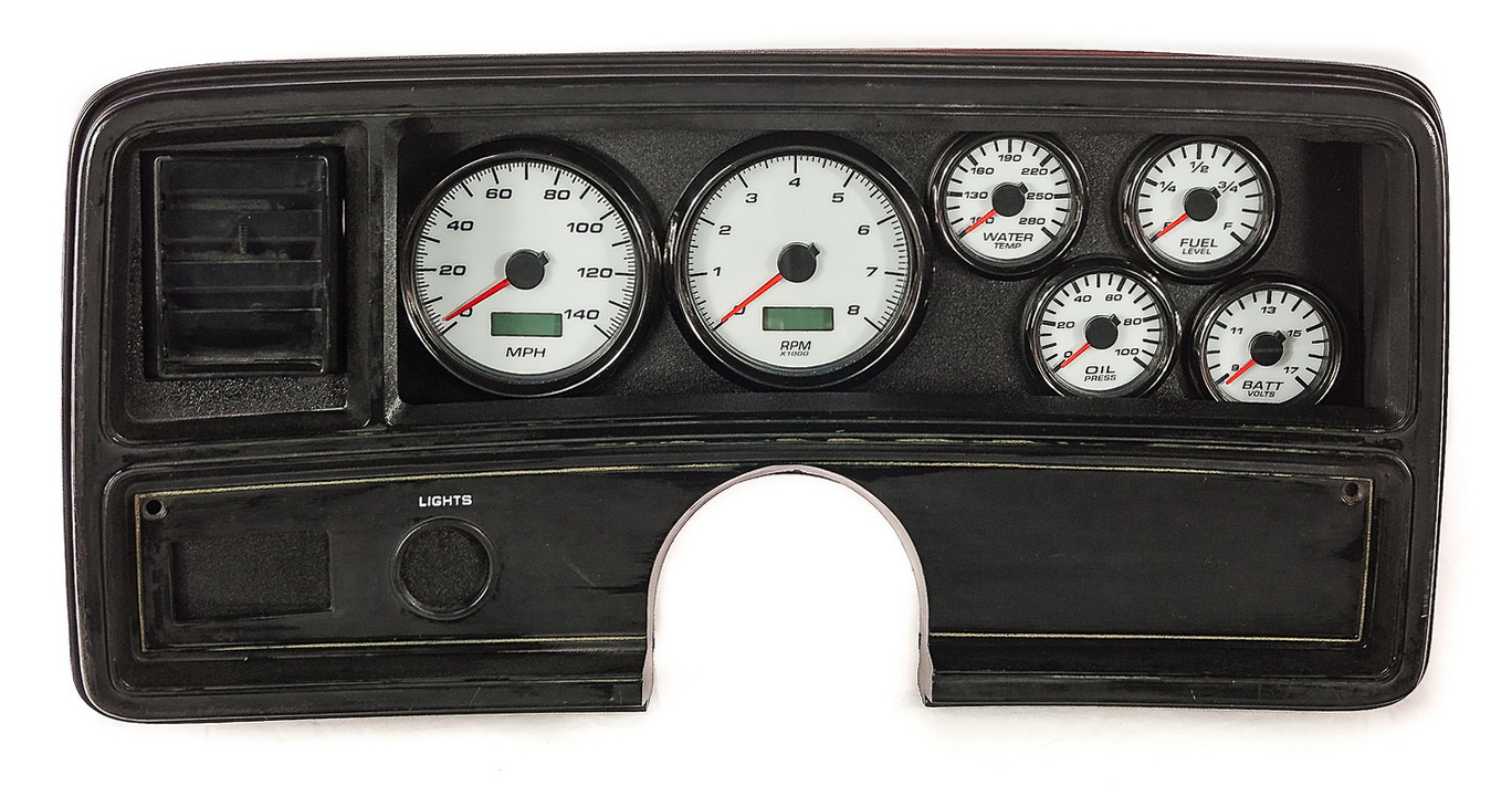 PRODUCTS - GAUGES AND PACKAGES - DIRECT FIT PACKAGES - GM G-BODY 78