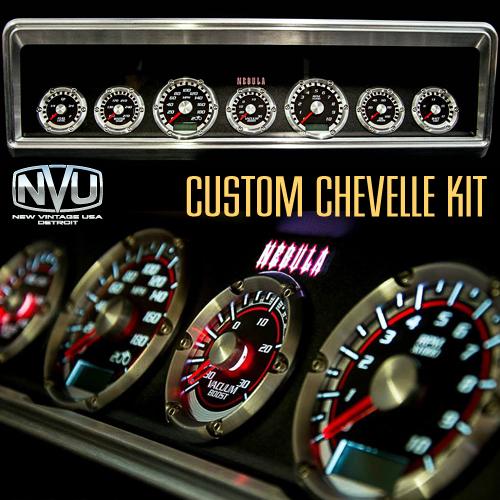 custom dash gauge panel culster extreme