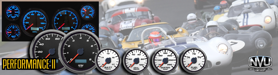 European car racing OE gauges LED stepper motor