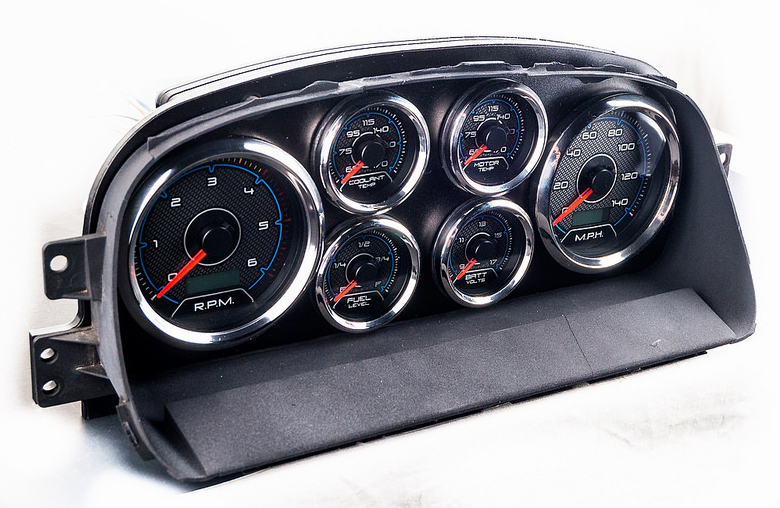 custom gauge panel indicator lights aftermarket