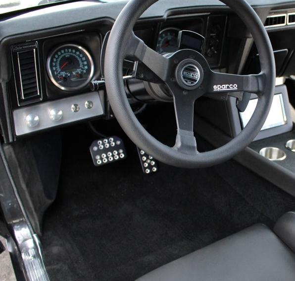 69 camaro custom dash aftermarket gauges