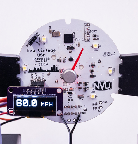speedometer prototype lcd module