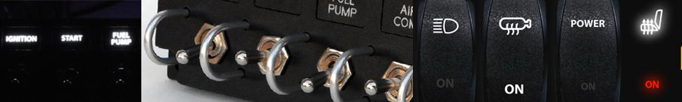 custom dash switch rocker toggle