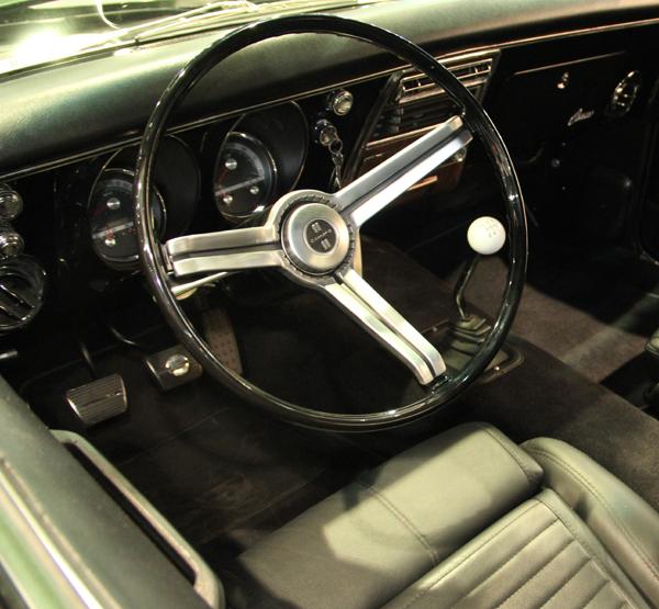 Tim Allen Camaro 68 Series gauges