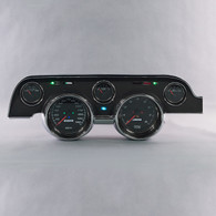 67-8 MUSTANG WIRED BLACK CASE PERFORMANCE SERIES BLACK