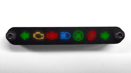 warning led indicator lamps lights icons