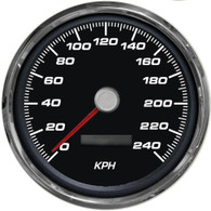 4-3/8 SPEEDO 240 KPH PROGRAMMABLE BLACK