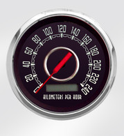 Woodward metric KPH km/h speedometer speedo gauge