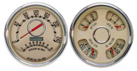 47-53 GM Truck package Woodward speedo/tach-quad 240 KPH