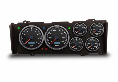 custom blue LED cutlass gauges 78-88 gbody