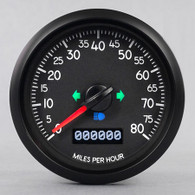 AVIATOR  COMMERCIAL SPEEDOMETER 80 MPH