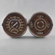 38 SERIES SPEEDO/TACH-QUAD BRN