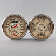 38 SERIES SPEEDO/TACH-QUAD TAN