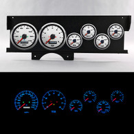 70-72 MALIBU SWEEP DASH PERFORMANCE II WHT