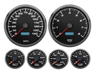 Performance racing gauges Led stepper motor instruments NVU