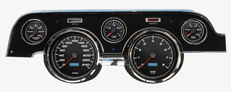 direct fit 67 68 mustag aftermarket dash gauges kits instruments