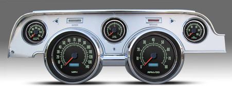 direct fit 67 68 mustag aftermarket dash gauges kits instruments