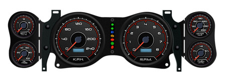 2nd generation Camaro aftermarket gauges install