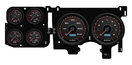 custom truck gauges