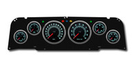 64-66 Chevy truck aftermarket custom gauges NVU