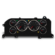 87-93 MUSTANG PERFORMANCE PROG SPEEDO BLK
