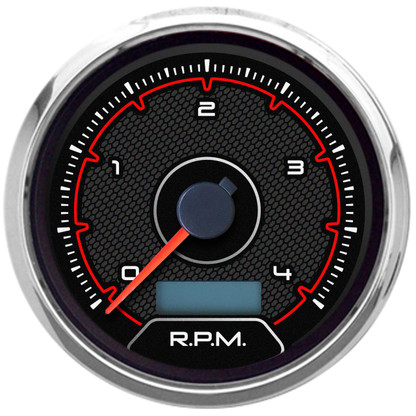 Hi style CFR american muscle gauges