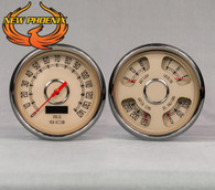 "4 3/8"" 2 GAUGE KIT BEIGE"