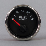 "2-1/16"" FUEL LEVEL  240-33 BLACK"