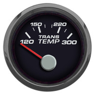 "PERFORMANCE  TRANS TEMP 2-1/16"" W/SENDER BLACK"