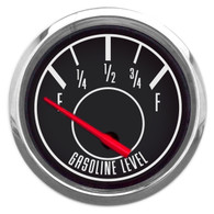 "1967 2-1/16"" FUEL LEVEL GAUGE 0-90 GM"