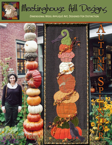 Our brand new cover featuring the original inspiration for this colorful stack of pumpkins, squashes and gourds!