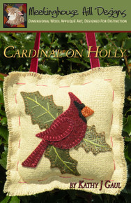 Cardinal on Holly - Pattern