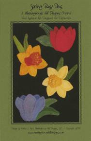 Spring Posy Pins - Pattern