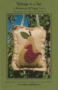 Partridge In A Pear - Pattern