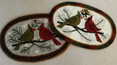 Cardinal Rule-Love One Another in Rug Hooking and Wool Applique