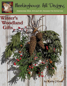 Craft 3 individually designed boughs of evergreens, 3 different sizes of pine cones, a branch of winterberry and a branch of rusty bells!  Tie them all together for a door decoration, or use the parts separately in wooden bowls, down a table scape or on a mantel!