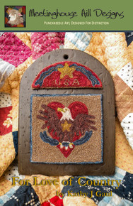 For Love of Country - Punchneedle
